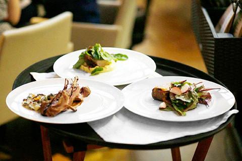 Так выглядели блюда в ресторане «ЦДЛ»