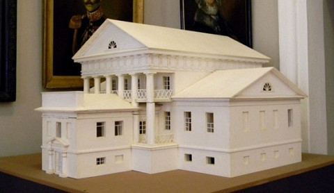 Модели зданий будут выглядеть примерно так, только они будут выполнены в цвете