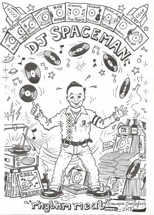 21 сентября в Haggis выступает DJ Spaceman.