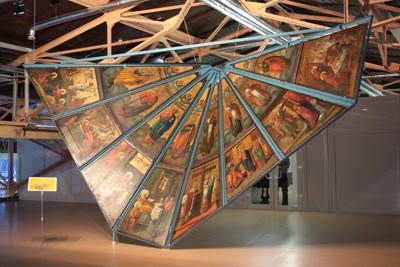 Небеса ручной работы. Расписные потолки и иконы из храмов Кенозерского национального парка