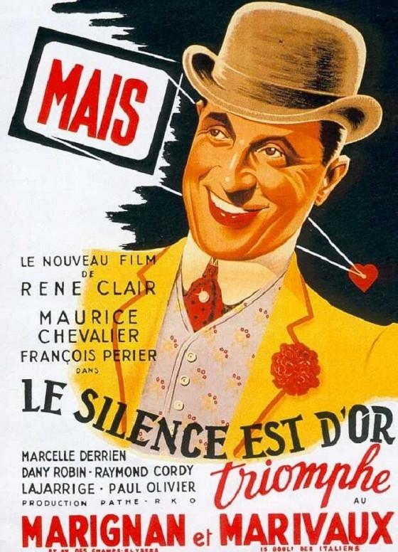 Молчание — золото (Le silence est d'or)