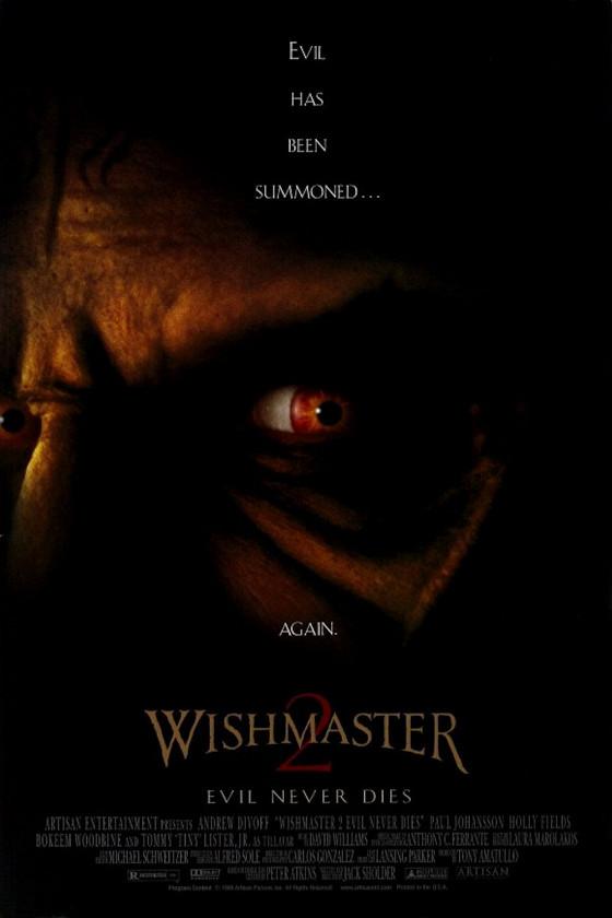 Исполнитель желаний-2: Зло никогда не умрет (Wishmaster 2: Evil Never Dies)