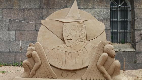 XIV Фестиваль песчаных скульптур