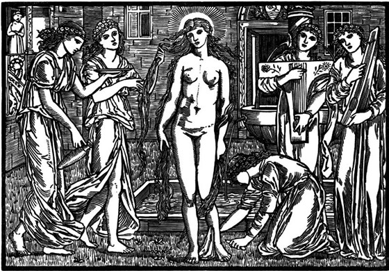 Графика прерафаэлитов. Последние рыцари Викторианской эпохи