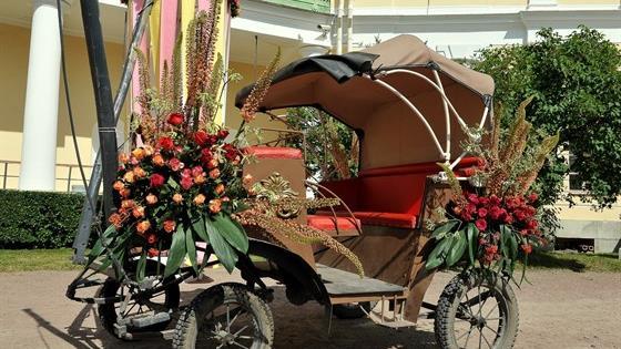 XV Международный фестиваль цветочного и ландшафтного искусства «Императорский букет»
