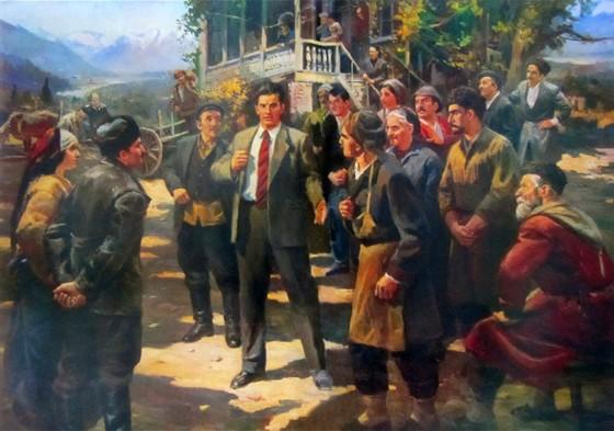 Дмитрий Налбандян. Художник Страны Советов