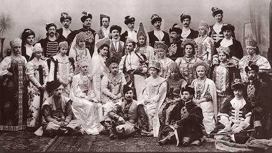 Костюмированный бал в Зимнем дворце. 1903 год