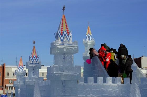 Ледяной городок «Хрустальная сказка»