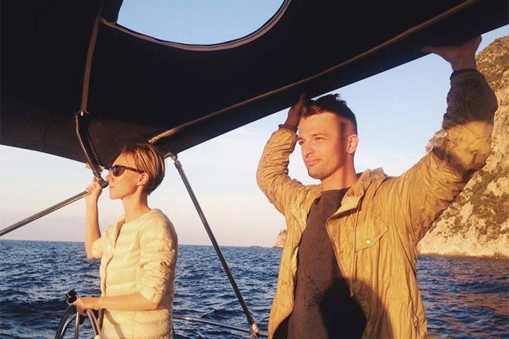 Еще один кадр из перехода в Тирренском море