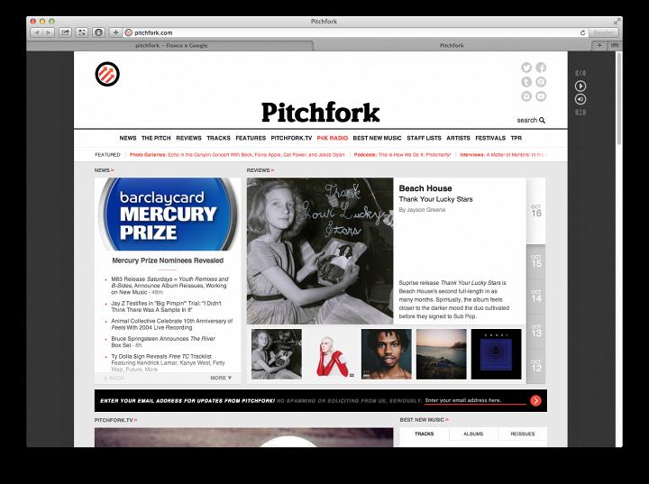 Condé Nast купил Pitchfork