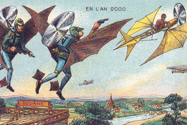 Как себе представляли 2000 год в конце XIX века