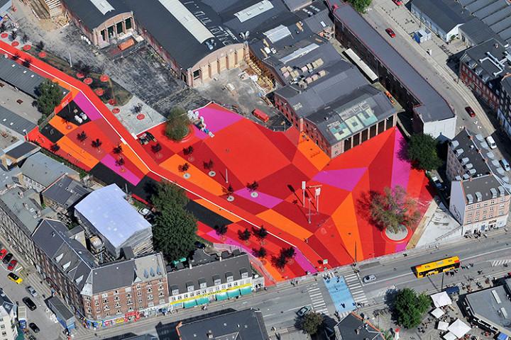 Superkilen — безумный парк в Копенгагене