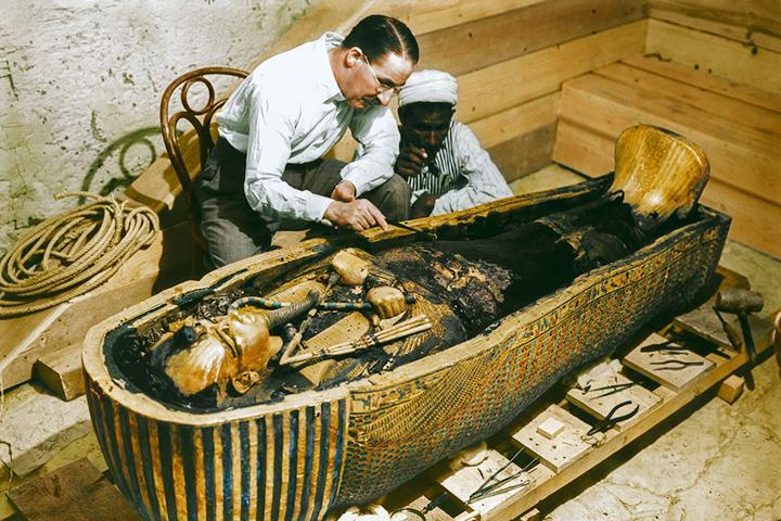 Гробница Тутанхамона изнутри