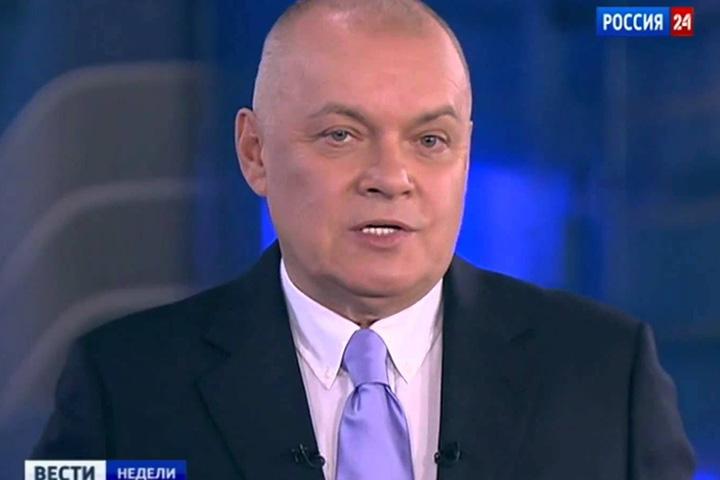 Телевизионное рычание Дмитрия Киселева для многих стало символом года