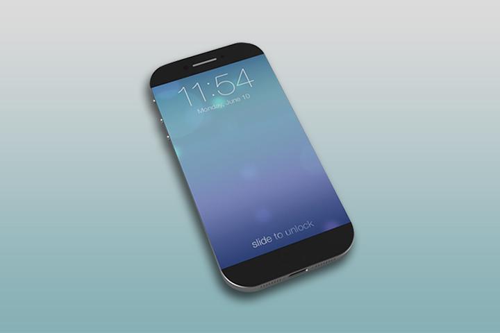 Любительский концепт большого айфона
