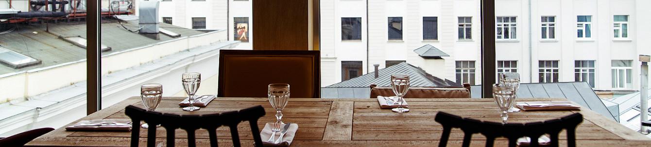 Рестораны с видом на Москву