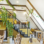 Ресторан Loving Hut - фотография 3 - Зеленое эко-пространство