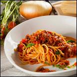 """Ресторан Pesto Café - фотография 6 - Спагетти """"Болоньезе"""""""