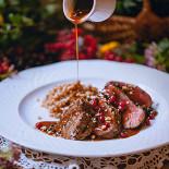 Ресторан Северянин - фотография 4 - 2/3 фунта отличной говяжьей вырезки с полбой