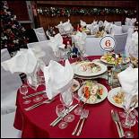 Ресторан Volga Hall - фотография 5 - оформление зала