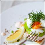 Ресторан Оранж 3 - фотография 4 - Скаген (530 руб) (креветки, яйцо, икра)