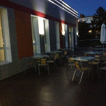 Ресторан Lowenburg - фотография 3 - Летняя терраса.