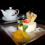 Ресторан Tango - фотография 4 - Апельсиновый чизкейк