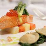 Ресторан Поло-клуб - фотография 5 - SLOW COOKED SALMON