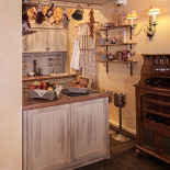 Ресторан La Serenata - фотография 4 - 2 этаж, открытая кухня