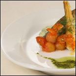 Ресторан Снегири - фотография 3 - Кухня ресторанов СНЕГИРИ