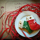 Ресторан Garçon - фотография 1 - Имбирные пряники на гречишном меду