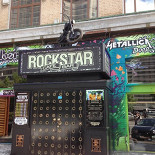 Ресторан Rockstar - фотография 5 - Байк на входе