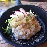 Ресторан Руккола - фотография 5 - Лимонное ризотто с треской