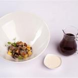 Ресторан 16th Line - фотография 6 - Меню.Консоме из грибов с равиоли из бычьих хвостов.