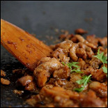 Ресторан Lucky Souvlaki - фотография 3 - начинка в сувлаки с курицей