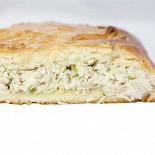 Ресторан Ешь пирог - фотография 5 - Пирог с курицей и сыром
