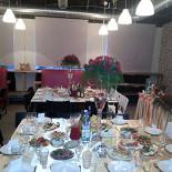 Ресторан 2.0 - фотография 2 - Вариант зала свадебного банкета на 80 персон