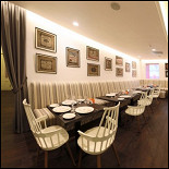 Ресторан Cinq sens - фотография 1 - Зал бистро
