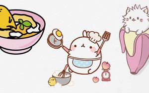 Пельмени, питерские бары и котики в салате: 21 набор стикеров про еду в Telegram
