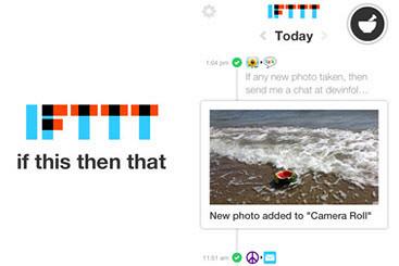 Журнал «Афиша», IFTTT для айфона, немного iOS 7 для андроидов, симулятор грозы Thunderspace и не только