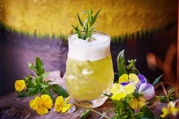 лимонад с киви и тархуном