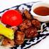 Ресторан Самарканд - фотография 7 - Шашлык из куриного филе