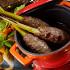 Ресторан Dandy Café - фотография 11 - Новое меню DandyCafebyArtemKorolev. люля кебаб из баранины в пан-азиатском стиле