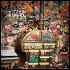 Ресторан Didu - фотография 9 - интерьер обрастает новыми пластилиновыми шедеврами