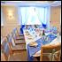 """Ресторан Sun Flower-парк - фотография 3 - Свадьба в бело-синем цвете - ресторан """"Катерина Парк"""". Максимальная вместимость при европейской рассадке - 125 человек (оптимально на 80 человек)."""
