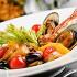 Ресторан Вителло - фотография 3 - Салат с морепродуктами Di Mare, ресторан Вителло, г. Балашиха