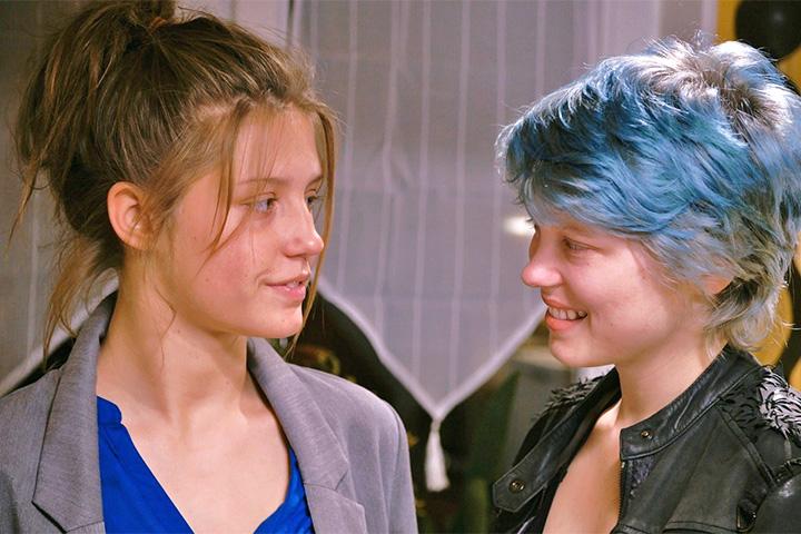Синий цвет самый теплый цвет фильм