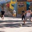 Спортивная площадка в Столешниковом переулке