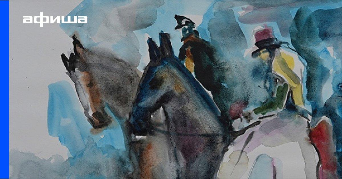 Выставка Олег Чернов. Мой Лермонтов, Санкт-Петербург
