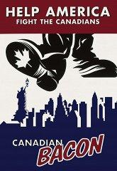 Постер Канадский бекон